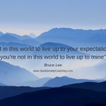 Dare Greatly Coaching | Living up to your own expectations