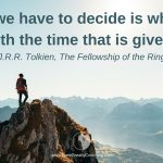 Dare Greatly Coaching | The time given us