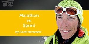 Dare Greatly Coaching | Marathon vs Sprint