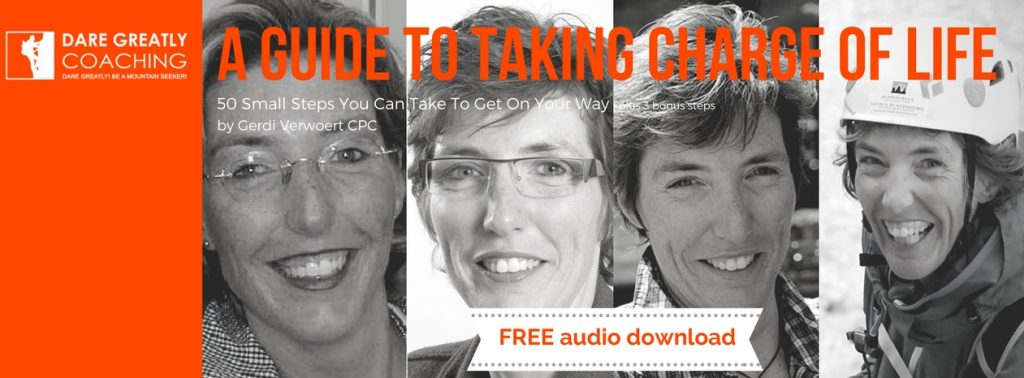 Dare Greatly Coaching | Free download of audio 'Guide To Taking Charge Of Life'