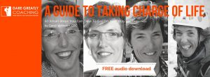Dare Greatly Coaching | Taking charge of life download banner