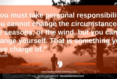Dare Greatly Coaching | Take responsibility