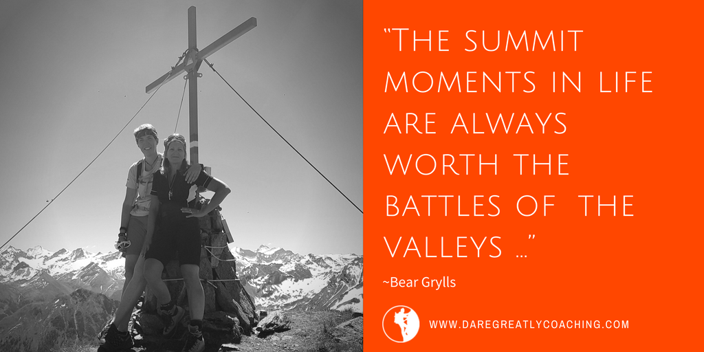 Dare Greatly Coaching | Summit moments