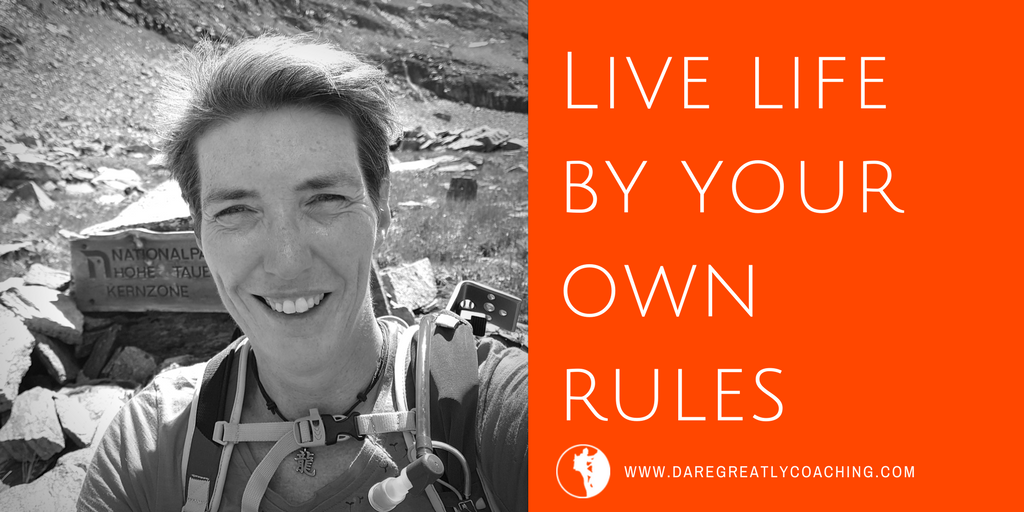 Dare Greatly Coaching | Live by your own rules