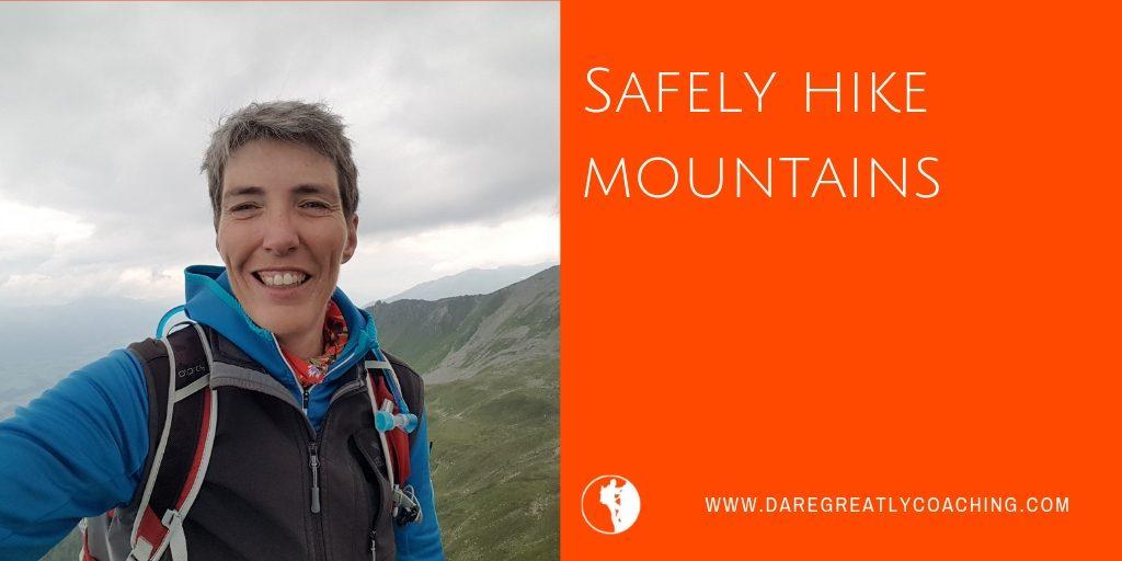 DGC | Safely hike mountains
