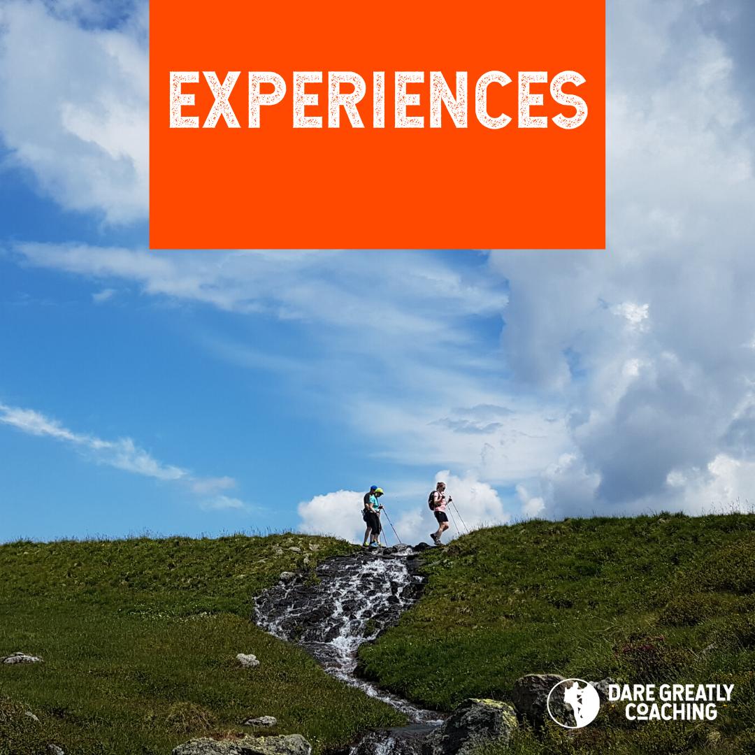 Dare Greatly Experiences