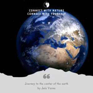 Nature as a main character: Journey to the Center of the Earth by Jules Verne