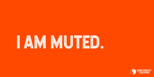 I am muted.