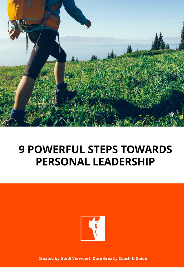 9 Powerful Steps Towards Personal Leadership
