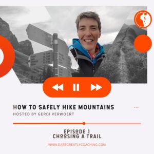 Choosing a Trail
