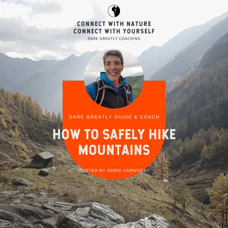 How To Safely Hike Mountains