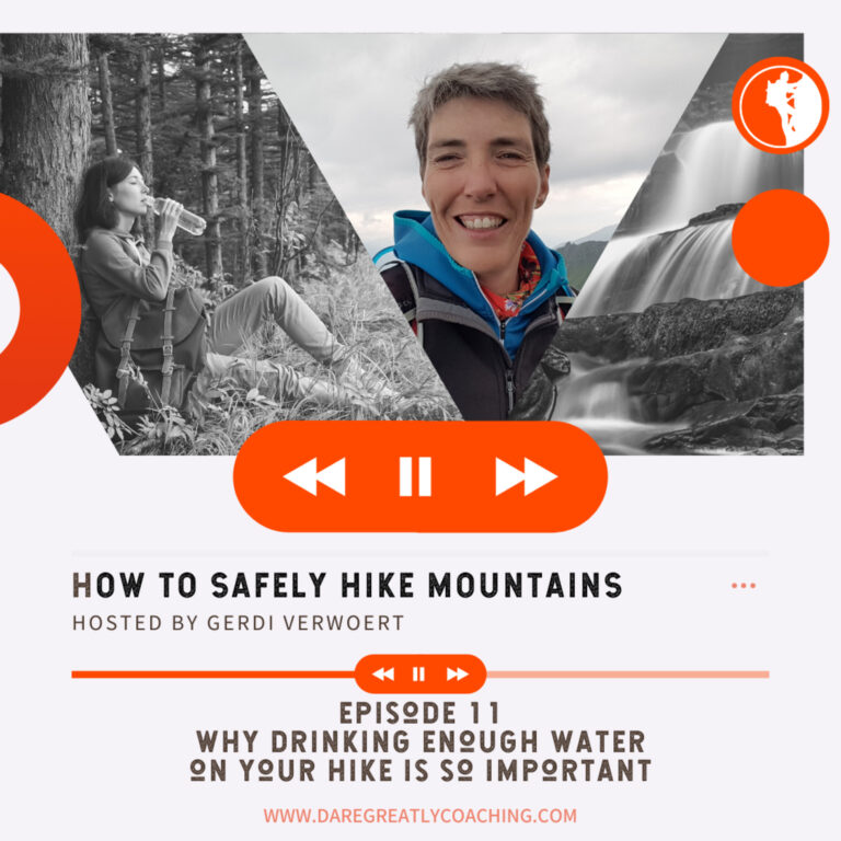 Episode 11: Why drinking enough water on your hike is so important