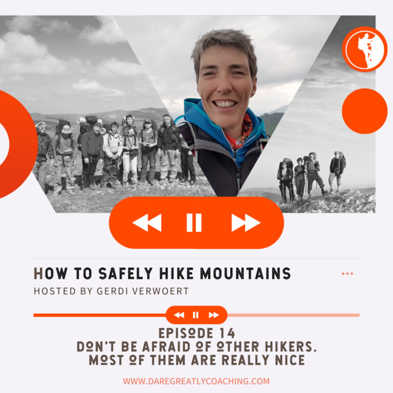 Episode 14: Don't be afraid of other hikers. Most of them are really nice